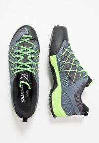 Salewa - MS WILDFIRE - Bergschoenen - flintstone/fluo green - 1