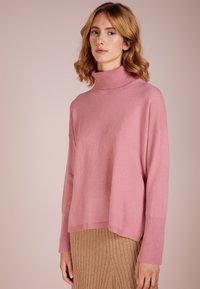 pure cashmere - TURTLENECK - Svetr - rose pink - 0