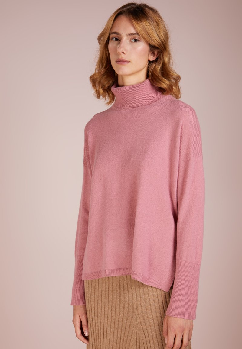 pure cashmere - TURTLENECK - Svetr - rose pink