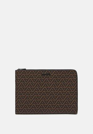 HENIEL - Laptop bag - light gold smooth