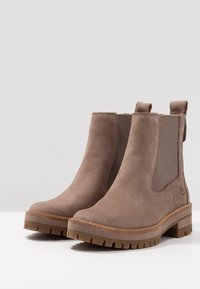Timberland - COURMAYEUR VALLEY CHELSEA - Classic ankle boots - taupe grey - 4