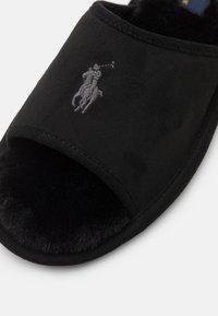 Polo Ralph Lauren - ANTERO - Slippers - black/cream - 4
