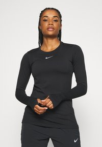 Nike Performance - INFINITE - Funktionsshirt - black/reflective silver - 0