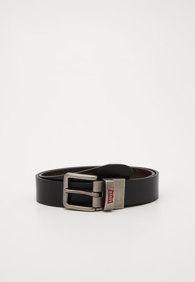 BATWING BUCKLE BELT - Riem - black
