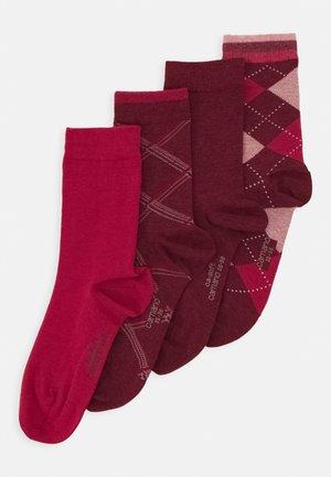 WOMEN SOCKS 4 PACK - Socks - kir royal melange