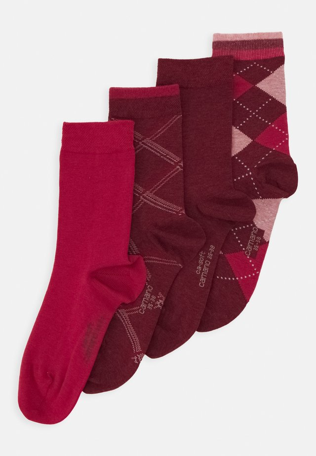 WOMEN SOCKS 4 PACK - Sokken - kir royal melange