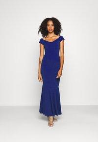 WAL G. - PLEATED HEM DRESS - Suknia balowa - electric blue - 1