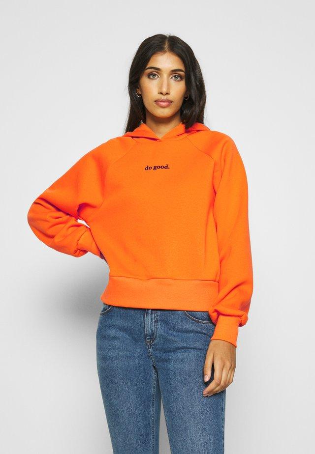 ELLEN - Sweat à capuche - orange