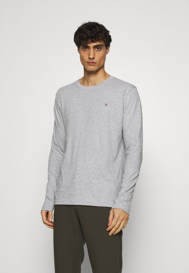 THE ORIGINAL - Long sleeved top - light grey melange