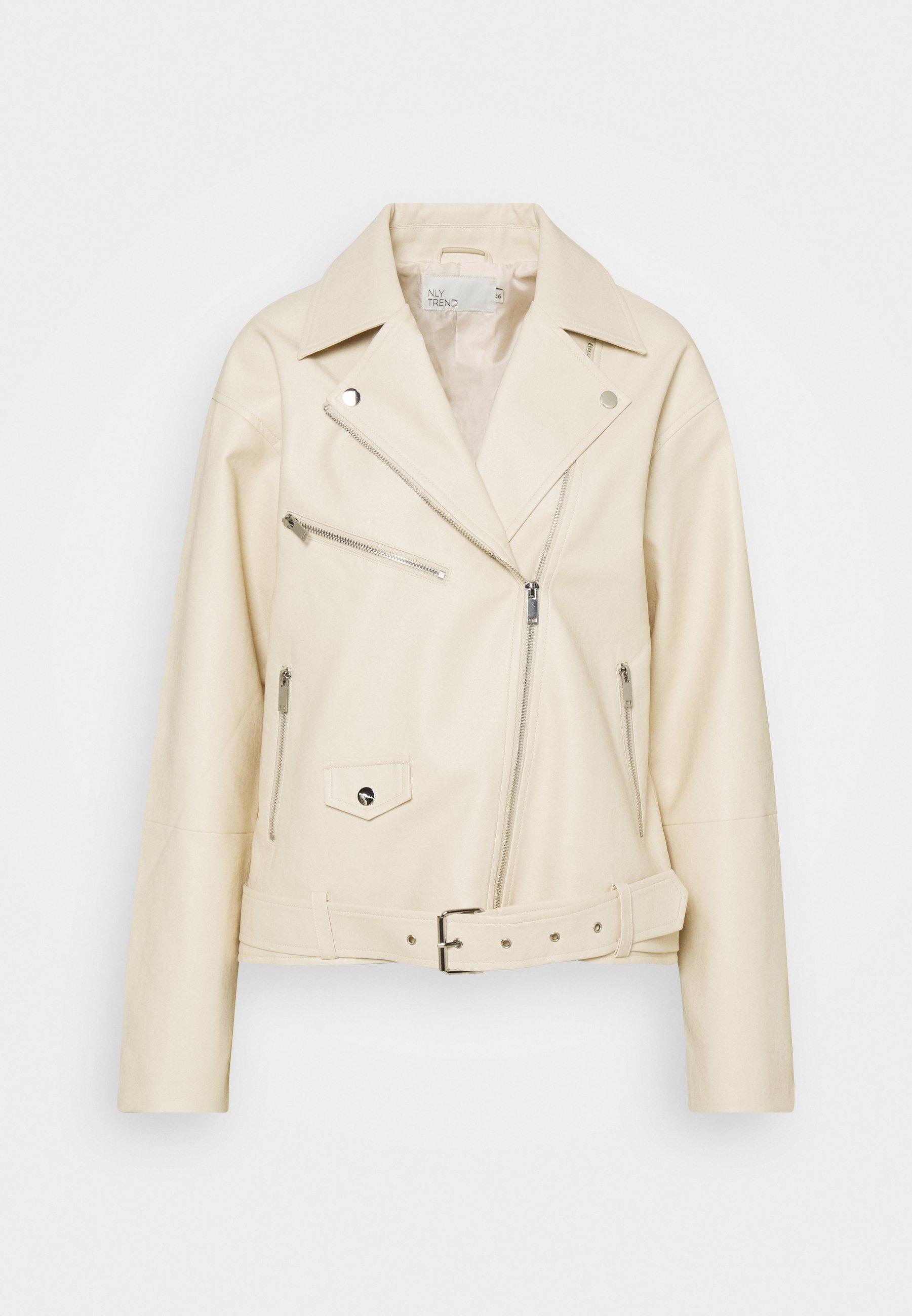 Women GRAND BIKER  - Faux leather jacket