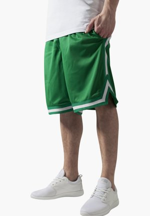 STRIPES - Tracksuit bottoms - green