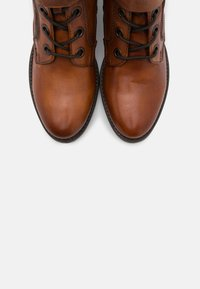 Bugatti - RUBY - Lace-up ankle boots - cognac - 5