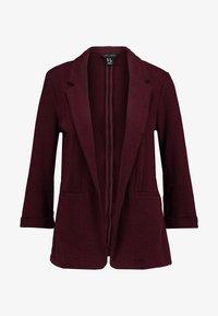 New Look - CROSS STRETCH - Blazere - dark burgundy - 4