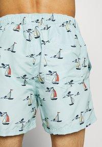 Jack & Jones - JJIARUBA JJSWIMSHORTS SAILOR - Shorts da mare - cool blue - 1