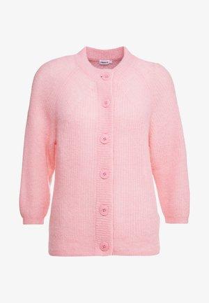 CHARLOTTE CARDIGAN - Kardigan - taffy pink