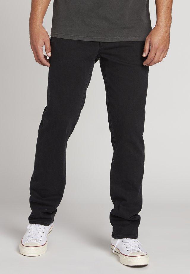 SOLVER - Straight leg jeans - ink black
