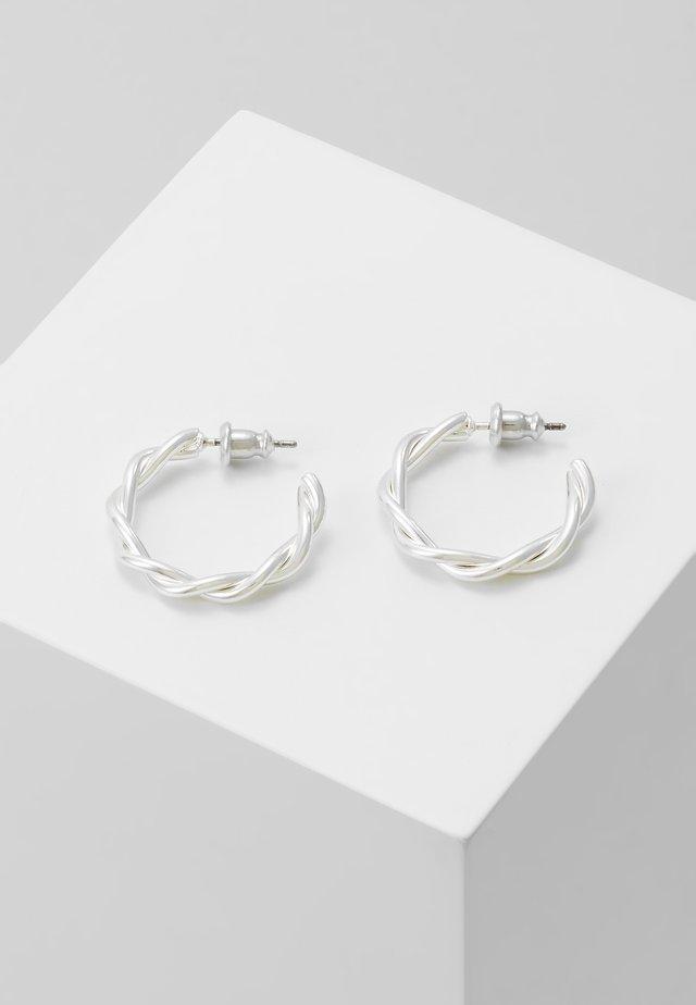 EARRINGS NAJA - Øreringe - silver