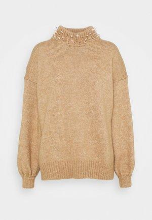 Sweter - desert beige