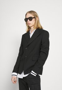 Dunhill - UNISEX - Sunglasses - black/black/brown - 0