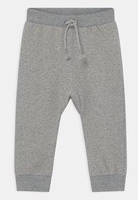 Sense Organics - MATTI BABY UNISEX - Trousers - grey melange - 0