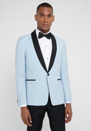 EVENING JACKET - Suit jacket - light blue