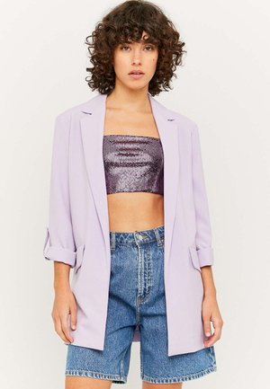 MIT ROLL UP ÄRMELN - Cappotto corto - purple
