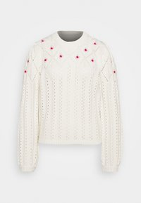 Notes du Nord - TALLY - Jumper - winter white - 4