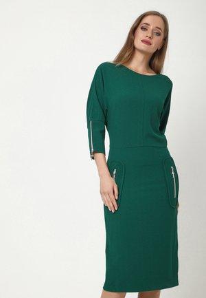 FAUSTINA - Jumper dress - smaragdgrün
