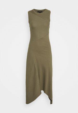 GIA DRESS - Vestido largo - khaki green