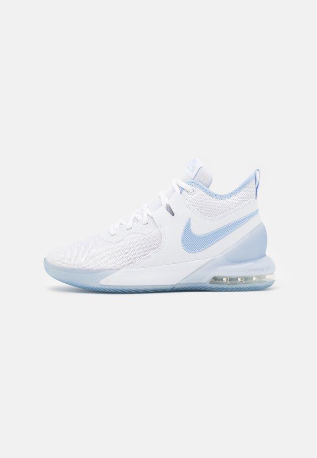 AIR MAX IMPACT - Zapatillas de baloncesto - white/royal tint/clear