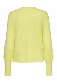 ONLY - Cardigan - pastel yellow - 6