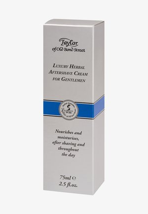 TAYLOR OF OLD BOND STREET LUXURY AFTERSHAVE CREAM - Aftershave balm - weiß