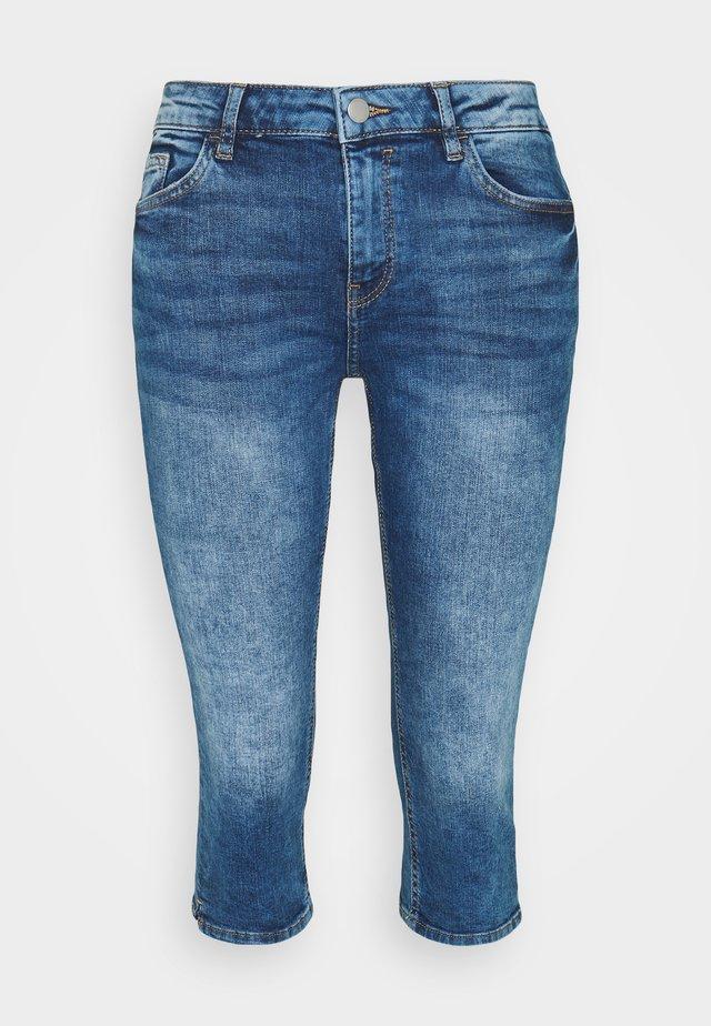 CAPRI - Denim shorts - blue denim