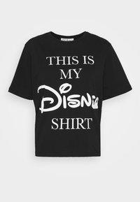 JDY - LIFE  - Print T-shirt - black/text - 3