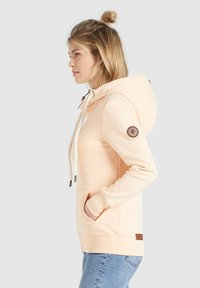 khujo - WANARI - Zip-up sweatshirt - apricot - 4