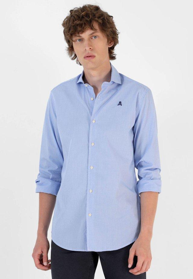 Camisa - blue check