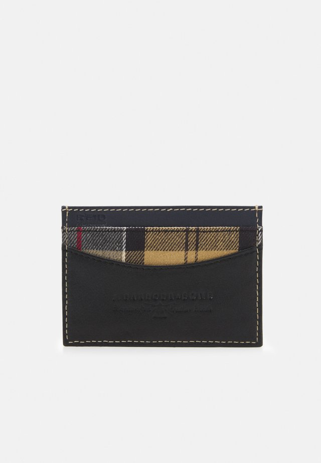 ELVINGTON CARD HOLDER UNISEX - Portemonnee - black