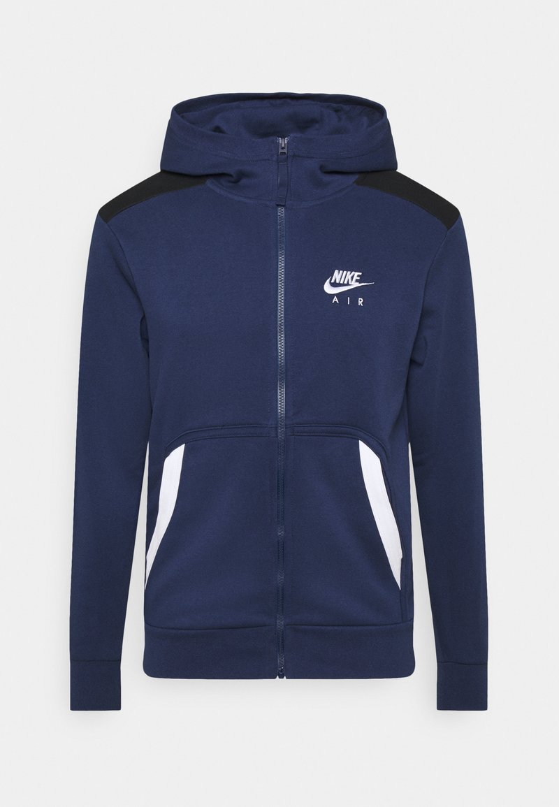 Nike Sportswear - HOODIE - veste en sweat zippée - midnight navy/black/white