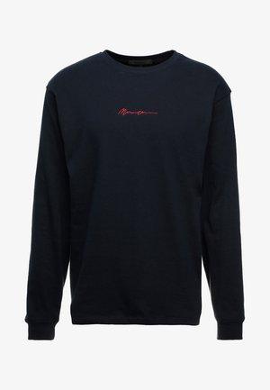 ESSENTIAL SIGNATURE TEE - Långärmad tröja - navy