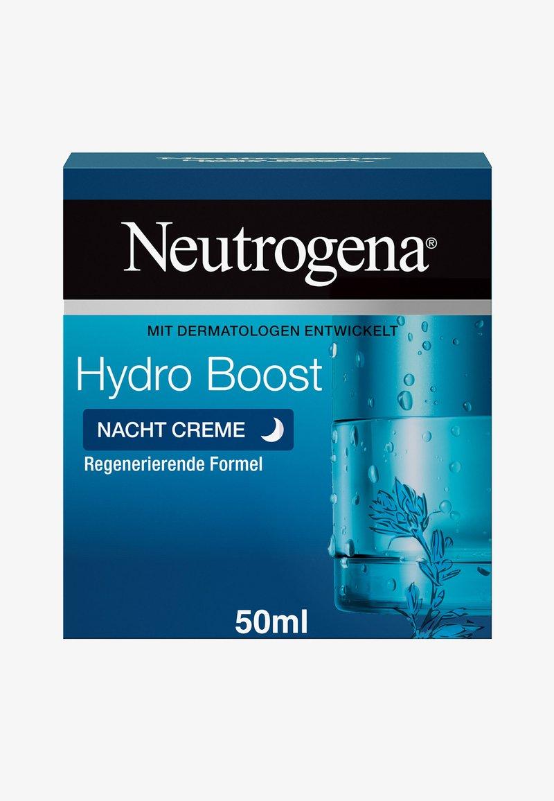 Neutrogena - GESICHTSPFLEGE HYDRO BOOST NACHT CREME - Night care - weiß