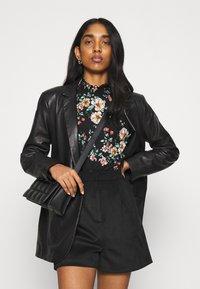 ONLY - ONLZILLE NAYA SMOCK - Long sleeved top - black/femme - 3