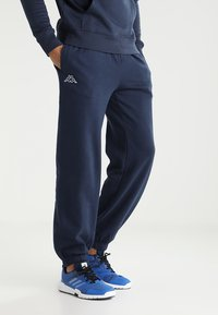 Kappa - SNAKO - Tracksuit bottoms - navy - 0