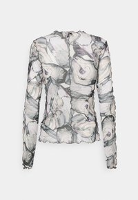 Monki - FAIRLY TOP - Maglietta a manica lunga - marble stone - 7