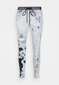 SIKSILK - DISTRESSED ELASTICATED  - Jeans Skinny Fit - blue tie dye - 3