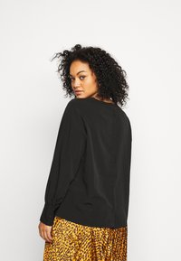 Vero Moda Curve - VMGABRINA - Long sleeved top - black - 2