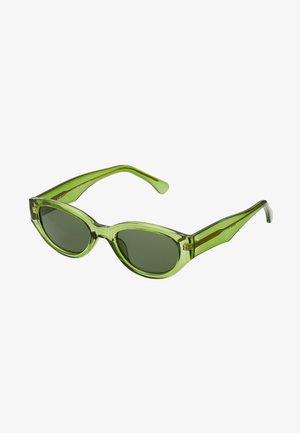 WINNIE - Sunglasses - light olive transparent