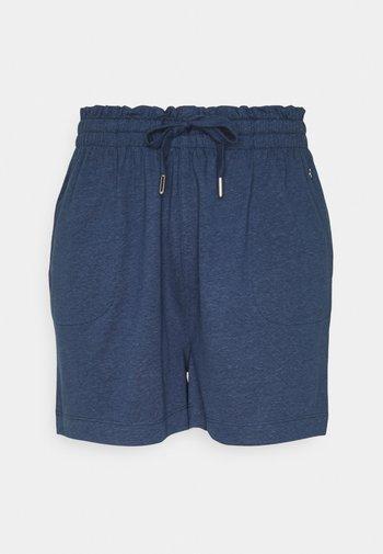 Short - faded blue