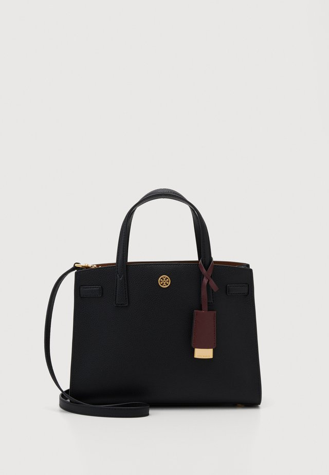 WALKER TRIPLE COMPARTMENT SATCHEL - Borsa a mano - black