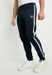 sergio tacchini - YOUNG LINE - Tracksuit bottoms - navy/white - 0