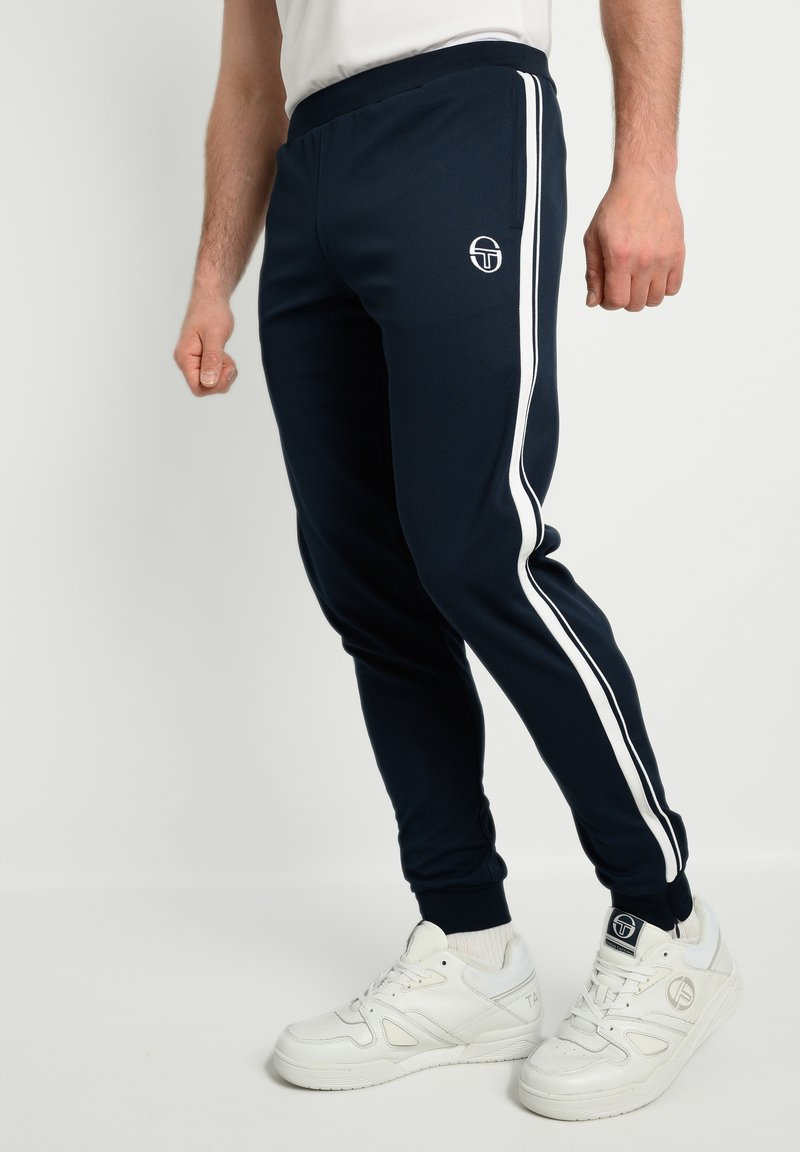 sergio tacchini - YOUNG LINE - Tracksuit bottoms - navy/white